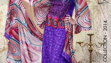 Ghani Textiles Colorful Spring Summer Wear Collection 2014 for Women
