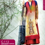 Gul Ahmed Spring Embroidered Lawns Wear Collection 2014 for Women 2