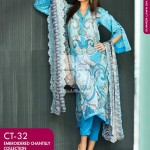 Gul Ahmed Spring Embroidered Lawns Wear Collection 2014 for Women 4