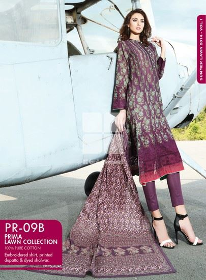 Gul Ahmed Summer Lawns Vol- 01 Wear Collection for Women 3