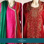 Hina Khan Colorful Formal Wear Collection 2014 for Women