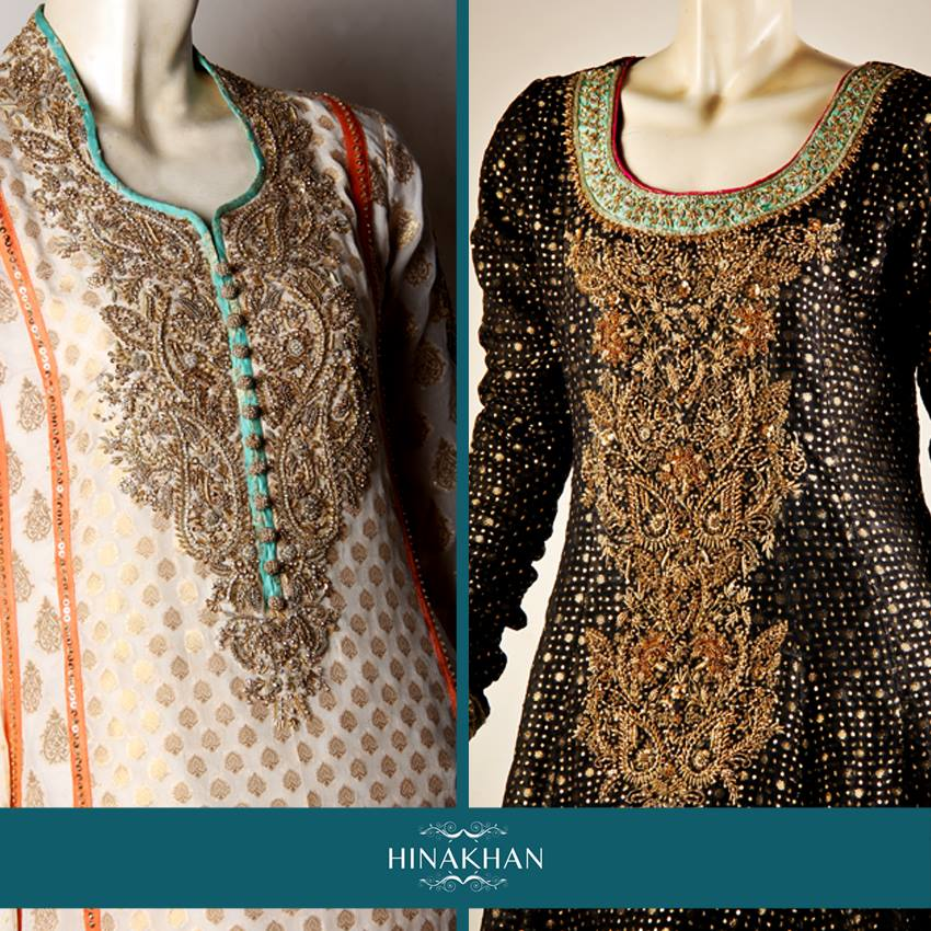 Hina Khan Colorful Formal Wear Collection 2014 for Women 3