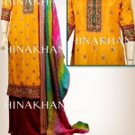 Hina Khan Colorful Formal Wear Collection 2014 for Women 4