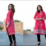 Ittehad Textiles Printed Lawn Shirts 2014 For Women 3