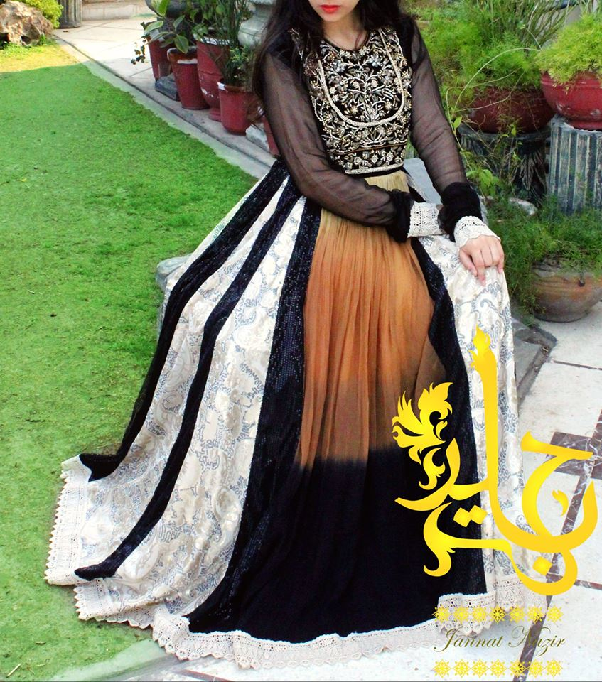 Jannat Nazir Summer Wedding Wear Collection 2014 for Women 6