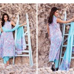 Julia Lawn Collection 2014 for Women by Ittehad Textile 2