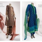 Junaid Jamshed Silk & Chiffon Collection 2014 for Women 2