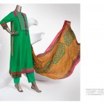 Junaid Jamshed Silk & Chiffon Collection 2014 for Women 4