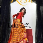 KESA Embroidered Lawn Prints 2014 by Lala