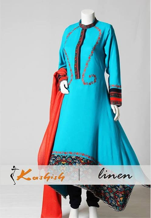Kashish Summer Dresses 2014 For Women 2