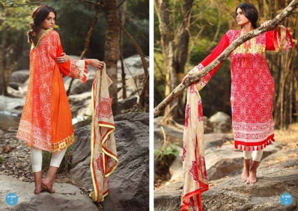 Komal Lawn Summer Dress Collection 2014 By LSM Fabrics (1)
