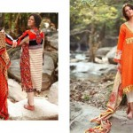 LSM Fabrics Summer Lawn Dress Collection 2014-2015 For Women (2)