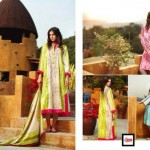 LSM Fabrics Summer Lawn Dress Collection 2014-2015 For Women (3)