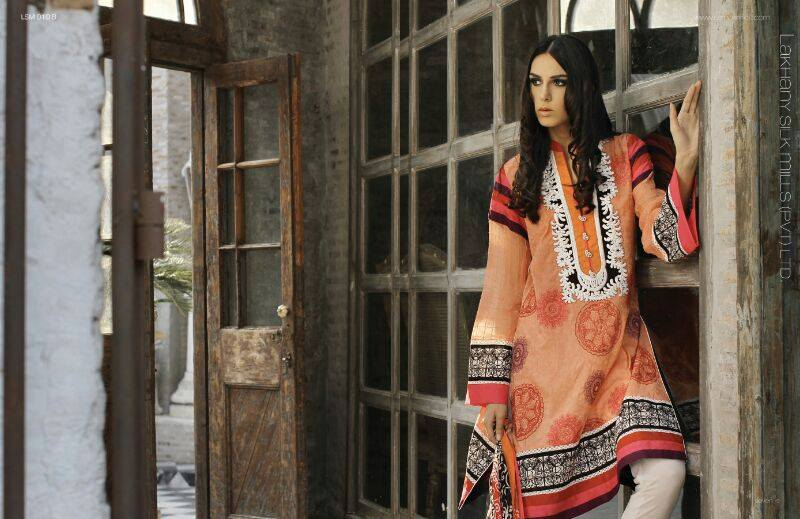 Lakhani's Zunn Designer Summer Collection 2014 by LSM Fabrics 5