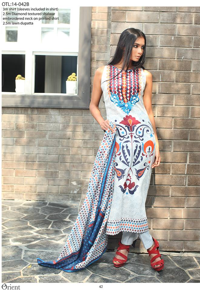 Latest Orient Textiles Spring Summer Collection 2014 for Women 3