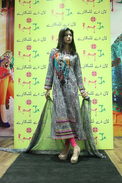 Launch of Rang Ja - Lawn De Lashkaray '2014 43