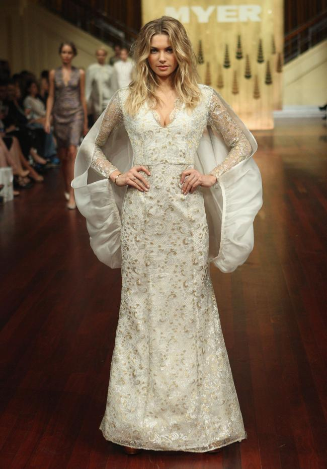 Myer Designer Collection Spring Summer 2014 Fashion Show 1