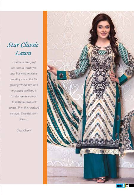 Naveed Nawaz Textiles Vol-01 Star Classic Lawn Collection 2014 for Women 3