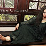 Naveen Uroosa Exclusive Party Wear Dresses 2014 for Girls