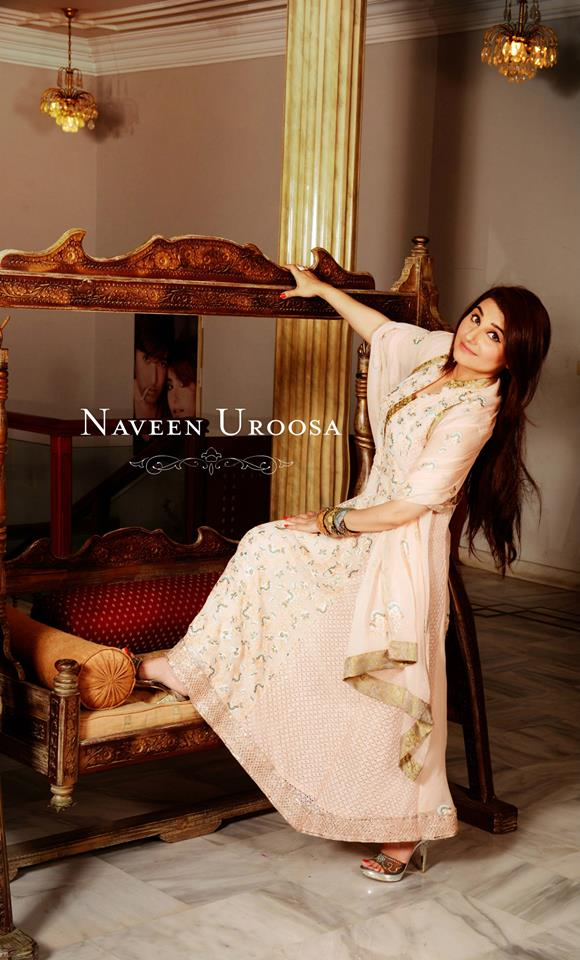 Naveen Uroosa Exclusive Party Wear Dresses 2014 for Girls 3