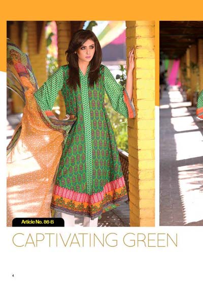 Phulkari by Taana Baana summer dress 2014 1