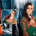 Preity Zinta Wearing Spring 2014 Collection by Saheli Couture