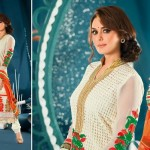 Preity Zinta Wearing Spring 2014 Collection by Saheli Couture 3