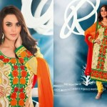 Preity Zinta Wearing Spring 2014 Collection by Saheli Couture 5