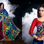 Prerna Poly Georgette Sarees Collection 2014 for Women 2