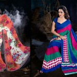 Prerna Poly Georgette Sarees Collection 2014 for Women 4