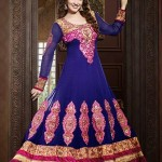 Rang - Designer semi stitched Anarkali suits. 1