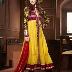 Rang - Designer semi stitched Anarkali suits. 4