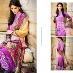 Resham Ghar Colorful Digital Prints Women Wear Dresses 2014 1