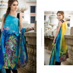 Resham Ghar Colorful Digital Prints Women Wear Dresses 2014 3