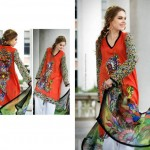 Resham Ghar Colorful Digital Prints Women Wear Dresses 2014 4