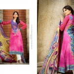Resham Ghar Colorful Digital Prints Women Wear Dresses 2014 5