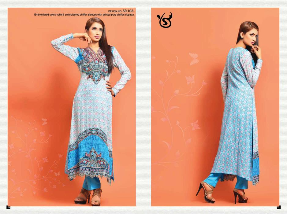 Salam Textile Exclusive Summer Wear Dresses 214 for Women 4