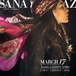 Sana Safinaz Summer Lawn Collection 2014 for Women 2