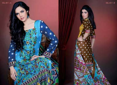 Sana Samia Lawn Vol 2. collection by lala 10