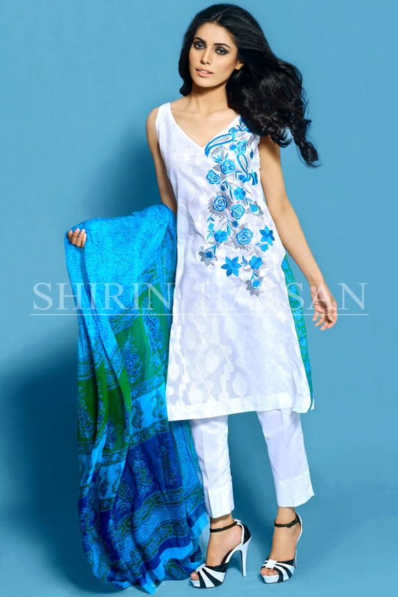 Shirin Hassan Ready to Wear Summer Lawn Prints 2014 for Women 2