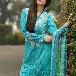 Sobia Nazir Exclusive Summer Wear Lawn Collection 2014 for Women 5