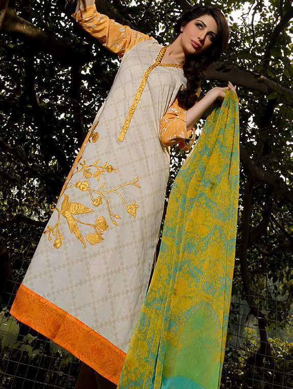 Sobia Nazir embroidered lawn collection 2014