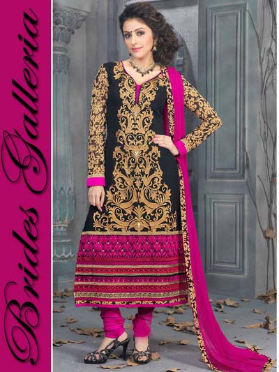 Stunning Faux Georgette Suits. collection 2014 4