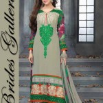 Stunning Faux Georgette Suits. collection 2014 5