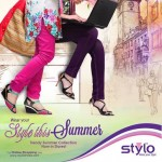 Stylo Shoes High Heel Sandals Summer Collection 2014 For Women (2)