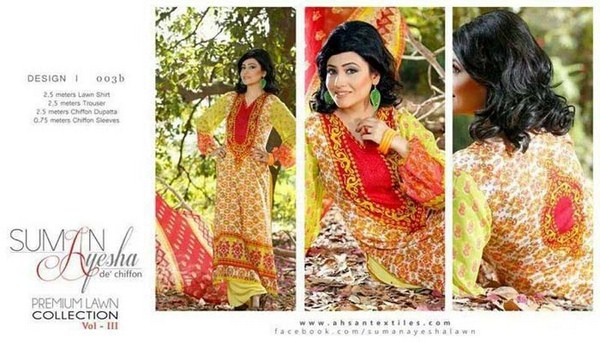 Suman Ayesha Women Summer Lawn Suits Volume 3 4