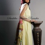 Swaleha Hassam Paracha Party Dresses 2014 For Girls 1