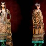 Unique Crinkle Chiffon Lawn Collection 2014 Vol-1 By Ajwa Textile. 15