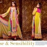 Unique Crinkle Chiffon Lawn Collection 2014 Vol-1 By Ajwa Textile.