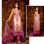 Unique Crinkle Chiffon Lawn Collection 2014 Vol-1 By Ajwa Textile. 2